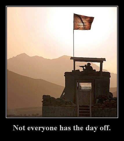 Veterans' Day May Be a Holiday for Some, But Just Remember...