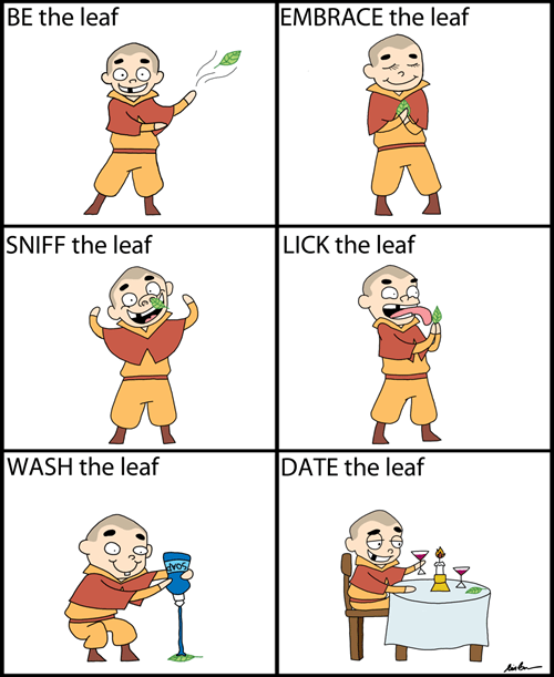 Leaf it to Meelo