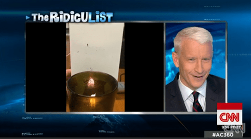 Giggle Fit of the Day: Anderson Cooper Doesn't Know Segment is About Him