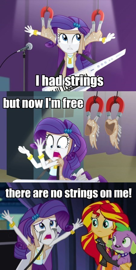 Unlike Ultron, She Loved Her Strings