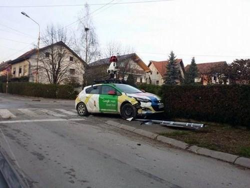 Google Maps Crashed