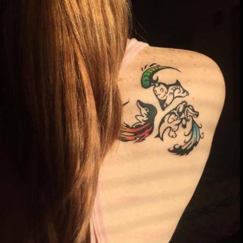 Johto Starter Tattoo