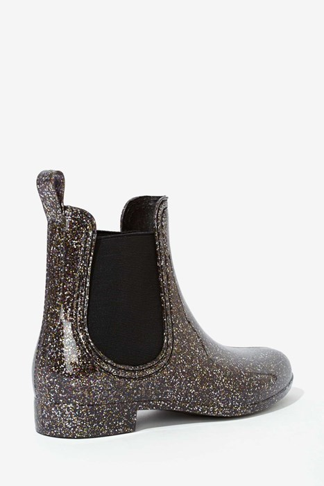These Glittery Rain Boots Are Just What Your Inner Child Always Wanted