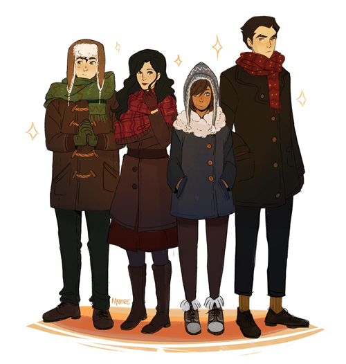 Team Avatar's Ready for Winter, Are You?