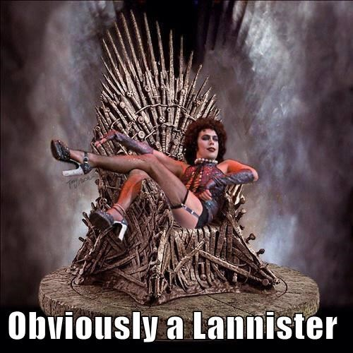 Obviously a Lannister