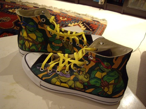 Cowabunga, Shoes!
