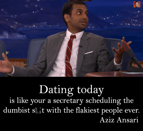 Aziz Has it Right