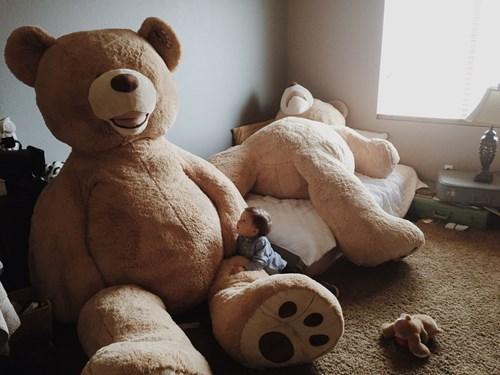 teddy bear,kids,giant,parenting,huge