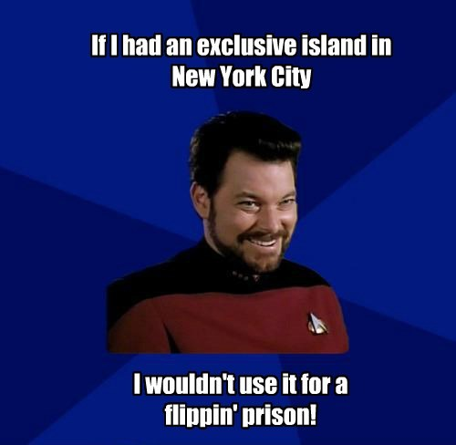If I had an exclusive island in New York City