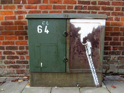clever,graffiti,hacked irl,painting