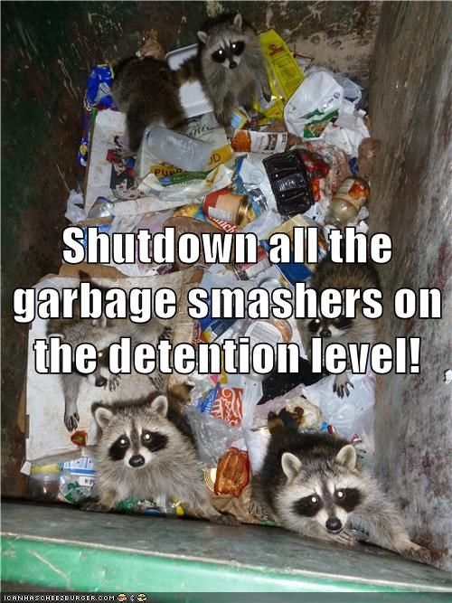 Otherwise the Delicious Garbage Will be Smashed