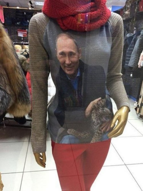 poorly dressed,sweater,Vladimir Putin,g rated