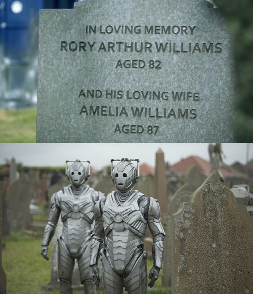 Just Want To Remind You What Happens When Cybermen Take Over Graveyards
