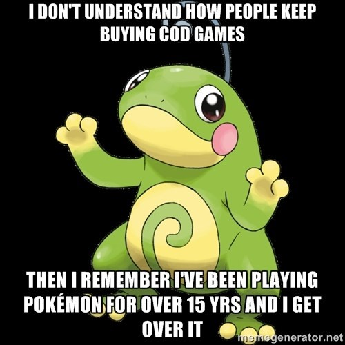Introducing....Then I Got Over It Politoed