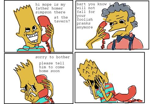 The Dark Side of  Bart's Pranks
