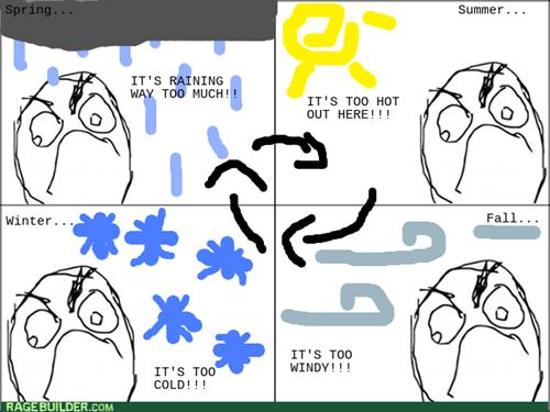 Seasonal Rage