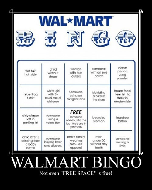 Wal Mart, Nothing Is Free