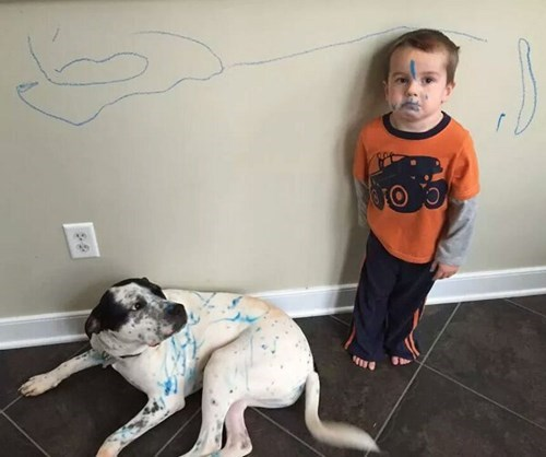 dogs,kids,marker,parenting,g rated