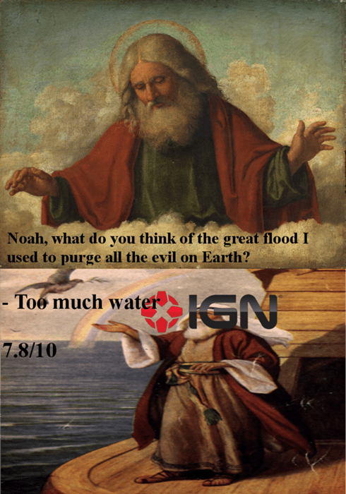 god,too much water,IGN