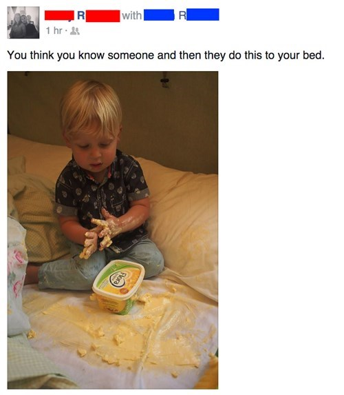 kids,butter,parenting,oh god why
