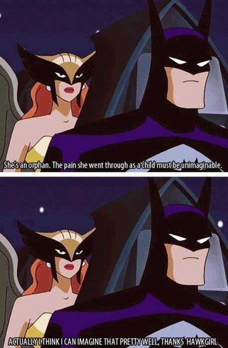 Think About Who You're Talking To, Hawkgirl