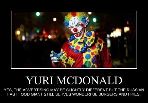 YURI MCDONALD