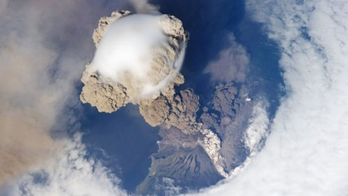 Do Volcanic Eruptions Ease Global Warming?