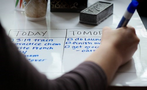 For Just $30 You Can Turn Your Desk into a Dry-Erase Board!