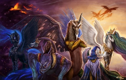 Legends of Equestria Unite