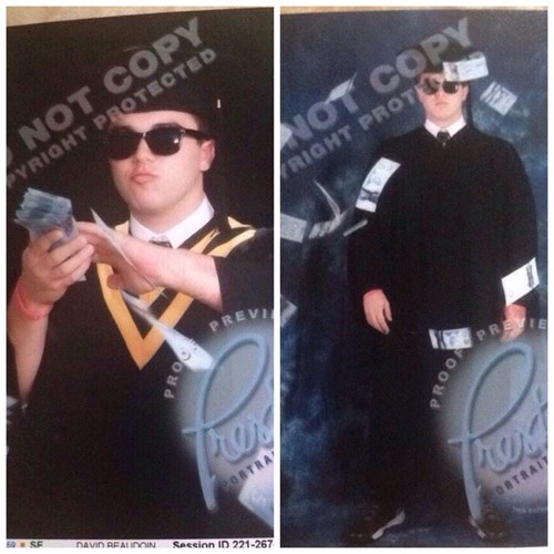 Business Majors Have Great Graduation Photos