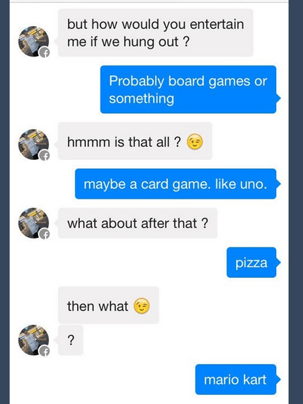 He Couldn't Take a Hint Even if They Were on Sale