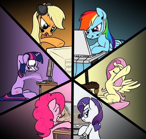 PC Mast Ponies