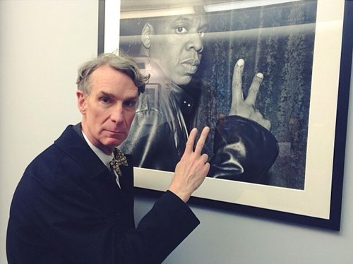 Just Bill Nye, Representing the Streets That Made Him
