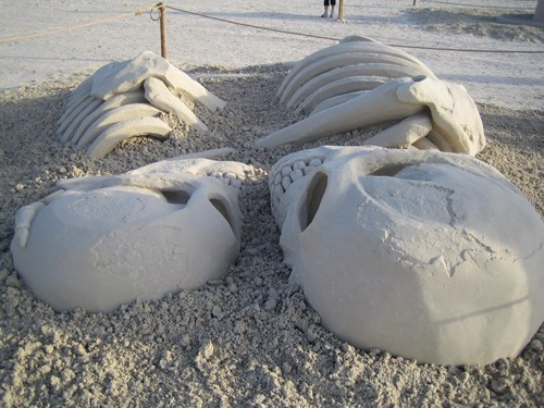Go Home, This Sand Sculpture is the Best of All