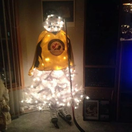 Christmas Decorations for a True Canadian