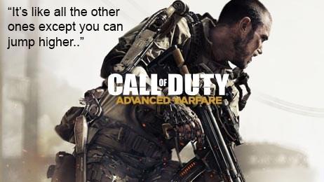 Call of Duty: Advanced Warfare in a Nutshell