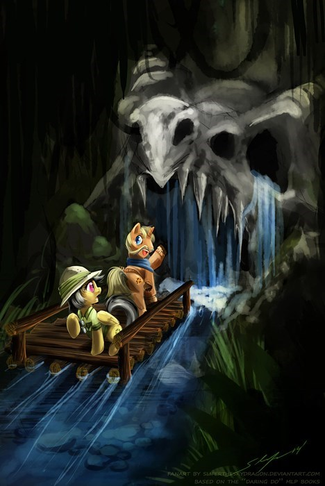 Daring Do and The Tears of the Dragon