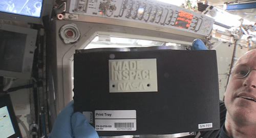 Science of the Day: First 3D Printed Object in Space