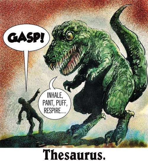 thesaurus,funny,dinosaurs,g rated,School of FAIL
