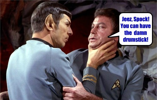 Let Me Guess: Kirk Gets The Breast!