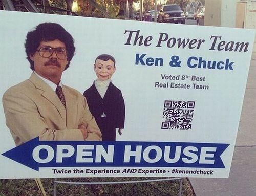 monday thru friday,sign,dummy,real estate