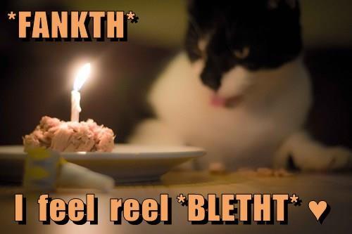 *FANKTH*   I  feel  reel *BLETHT* ♥