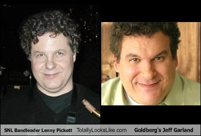 SNL Bandleader Lenny Pickett Totally Looks Like Goldberg's Jeff Garland