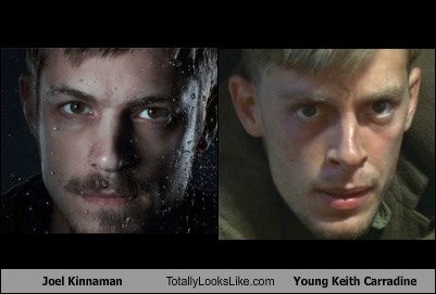 Joel Kinnaman Totally Looks Like Young Keith Carradine