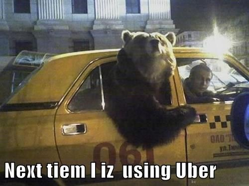 Next tiem I iz  using Uber
