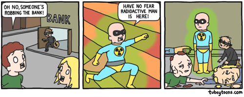 Some Superheroes Aren't as Useful