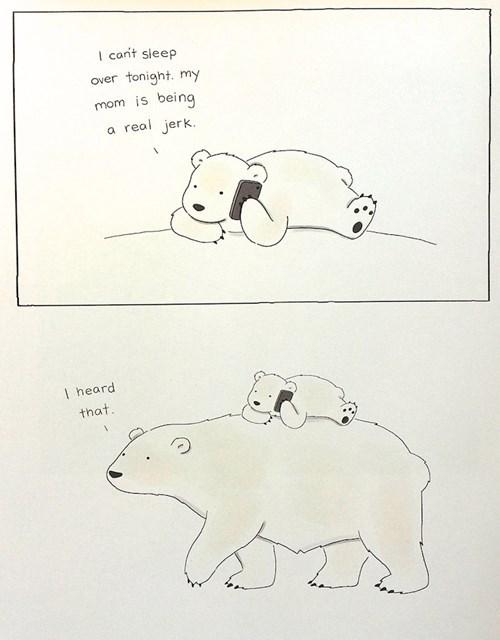 bears,polar bears,parenting,web comics