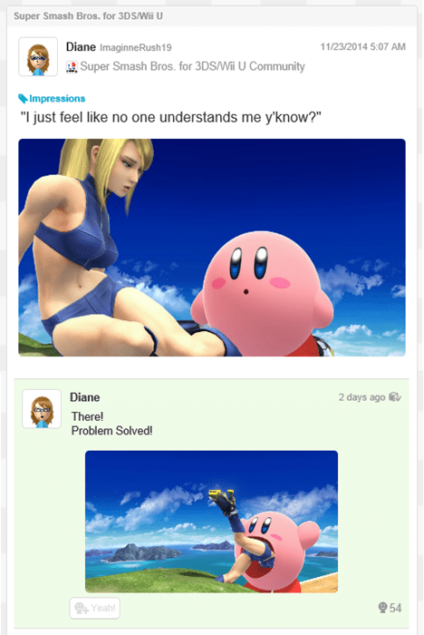 Sometimes Good Things Come From Miiverse