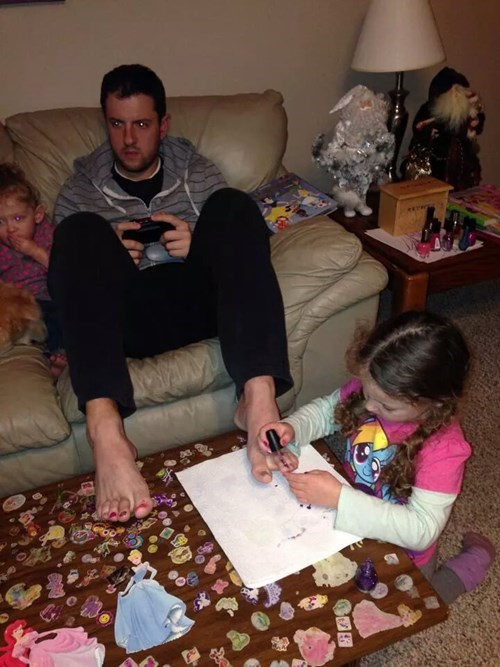 How Dads Game