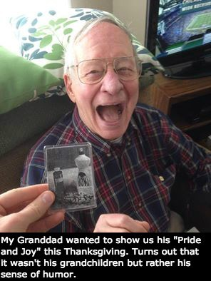 Dad Jokes Eventually Become Granddad Jokes